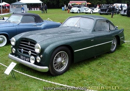 1951 TALBOT-LAGO T26C GRAND SPORT COUPE - de Carrosserie-Fabriek Pennock de The ...