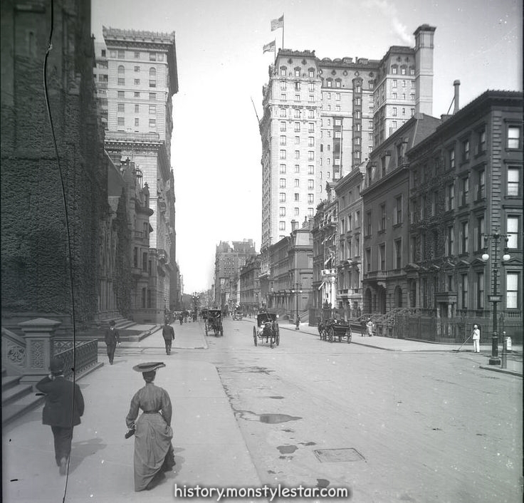 5th Avenue vers 53rd Street, New York, 1905