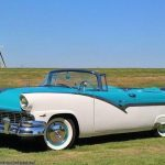 Ford Fairlane Sunliner 1956 # voitures anciennes1956cadillac # voitures Ford Classiques #Cadillacc ...