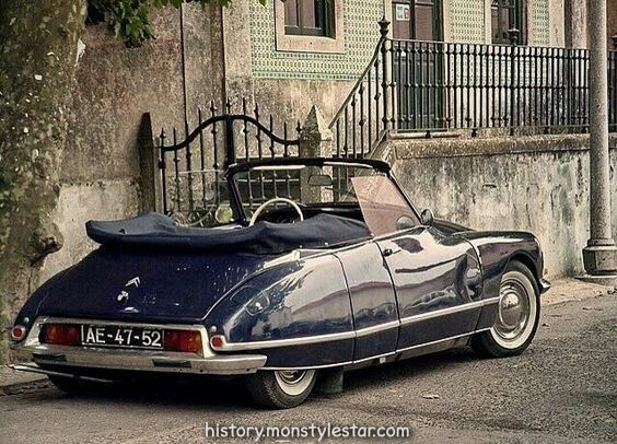 "doyoulikevintage: ""Citroen ds"""