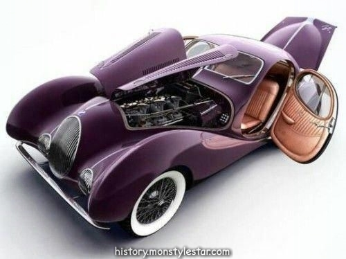 specialcar: doyoulikevintage: Voiture ancienne Talbot Lake T150 #Lamborghiniclassicca ...